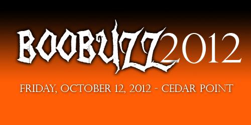 BooBuzz2012 at Cedar Point