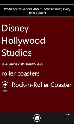 theme park information